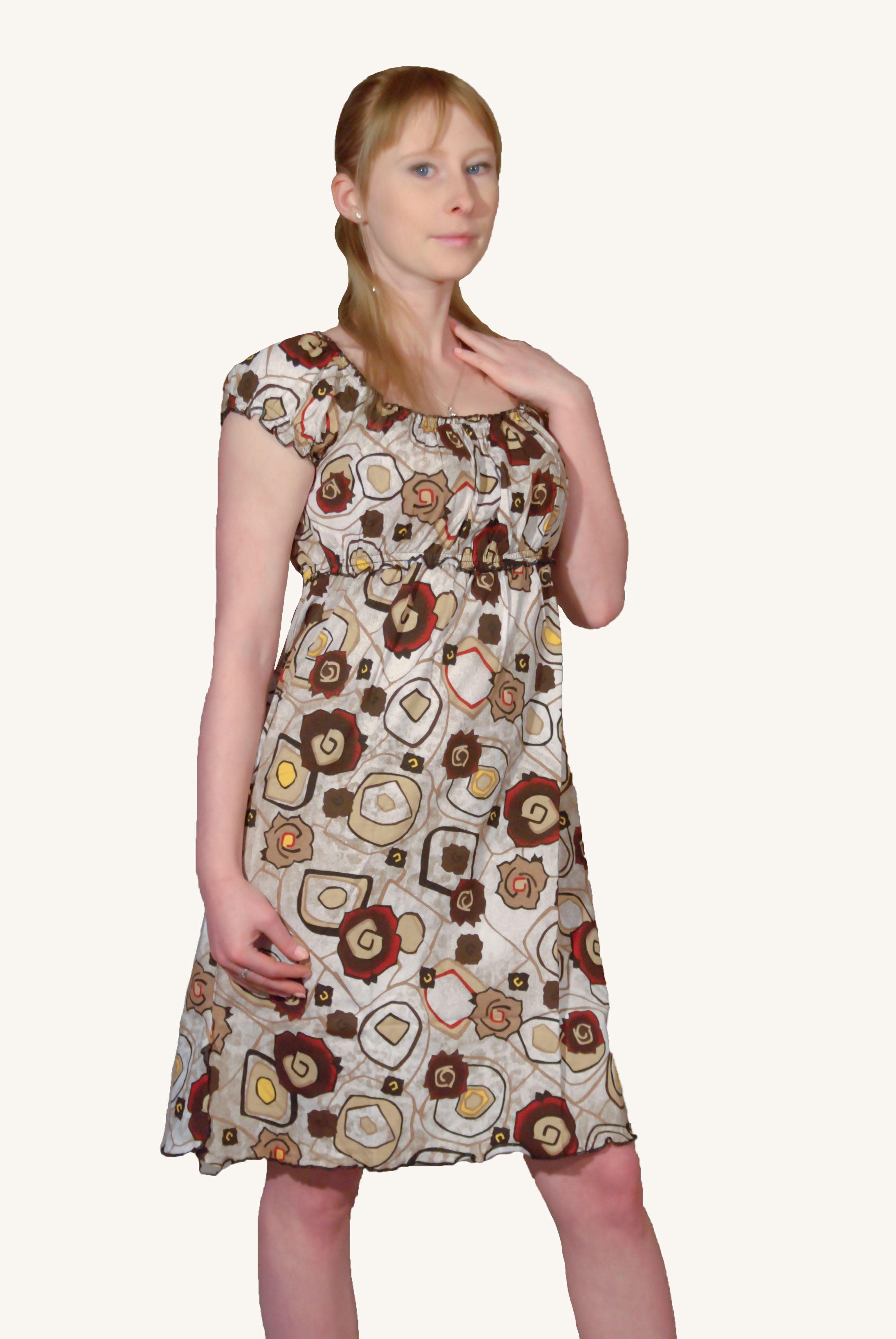 Сарафан Крестьянка (кулирка) | купить ивановский текстиль оптом