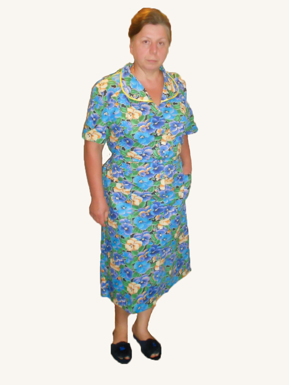 Фото бабушка в халате 9 фотография