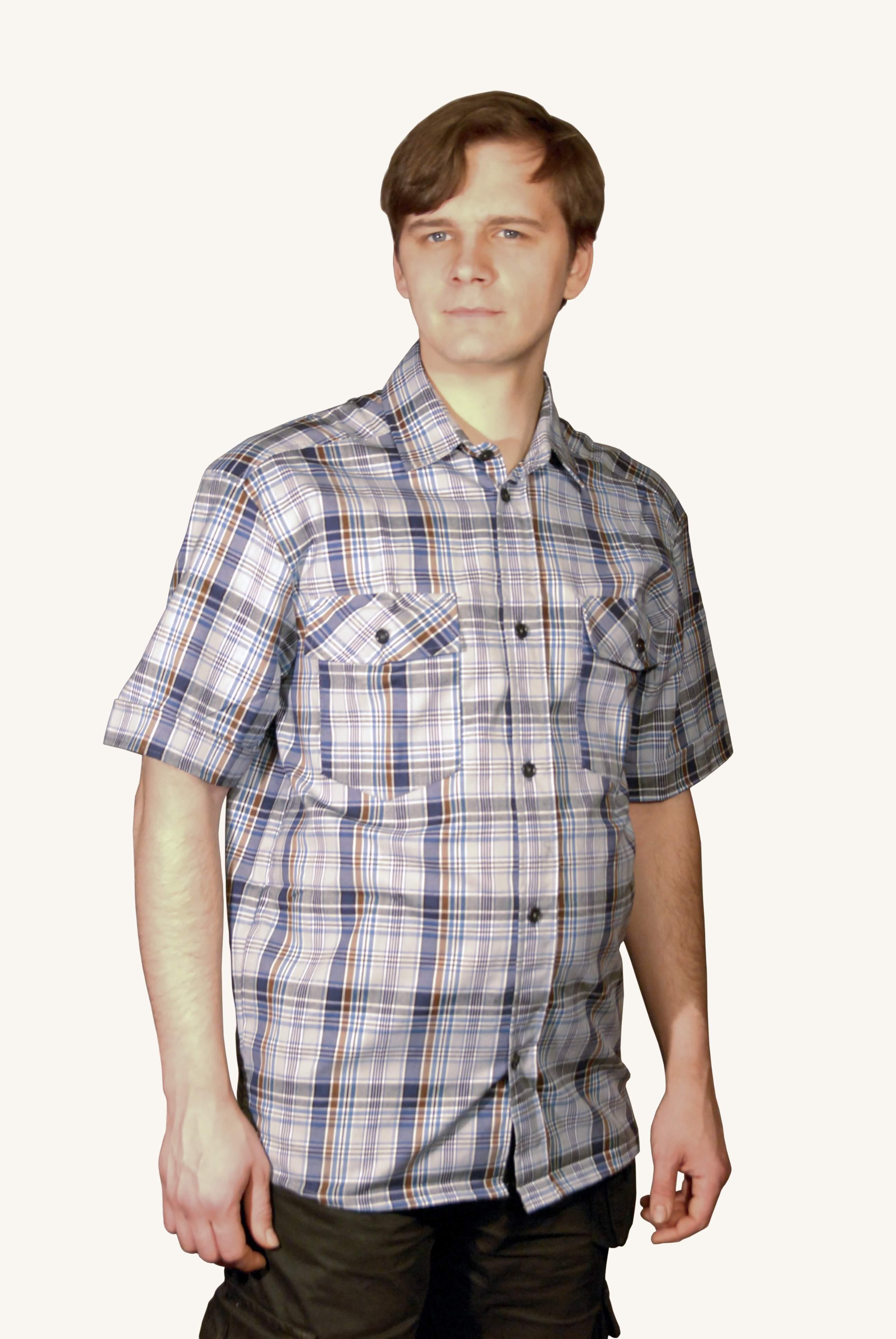 Рубашка туристическая | купить ивановский текстиль оптом