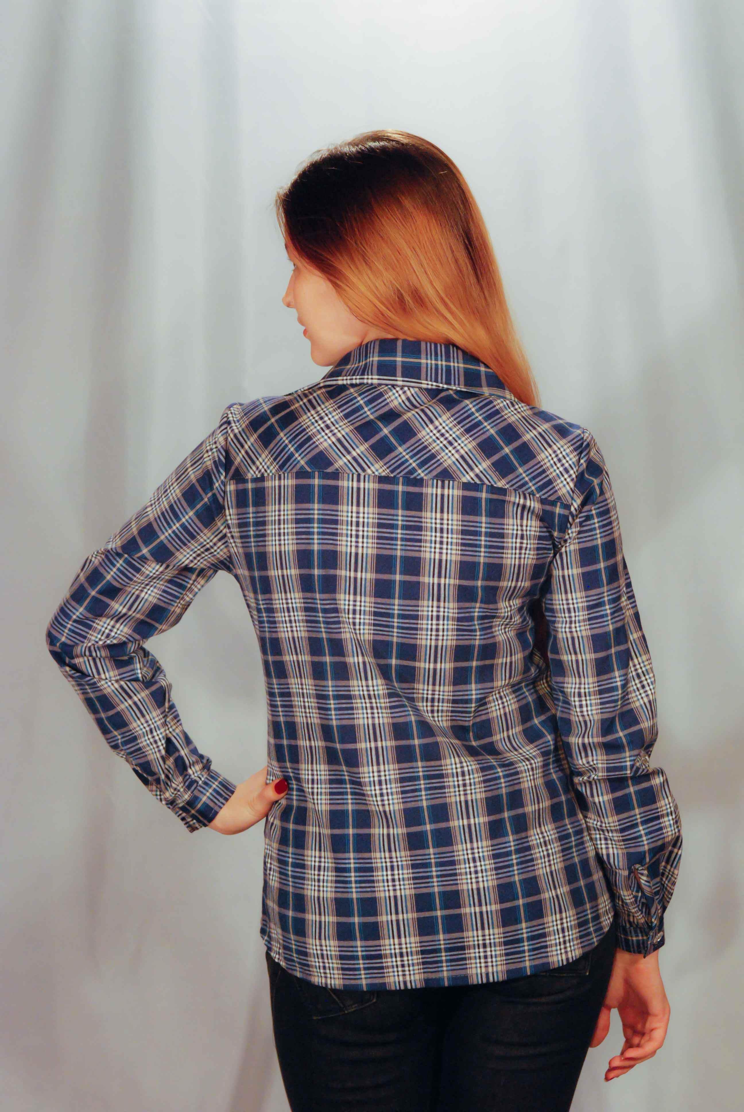 Рубашка шотландка | купить ивановский текстиль оптом