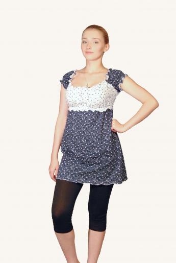 Костюм Крестьянка (кулирка, вискоза)| купить ивановский текстиль оптом