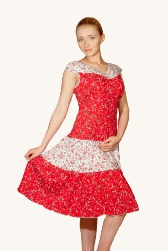 Сарафан трикотажный (кулирка) | купить ивановский текстиль оптом