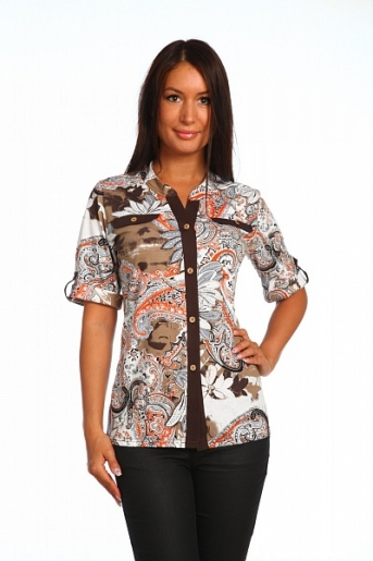 женская рубашка Вика