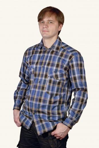 Мужская рубашка домашняя | купить ивановский текстиль оптом