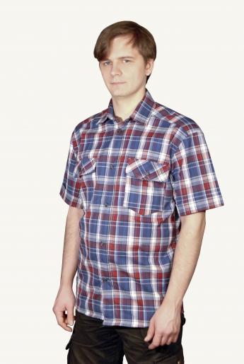Рубашка мужская рабочая | купить ивановский текстиль оптом