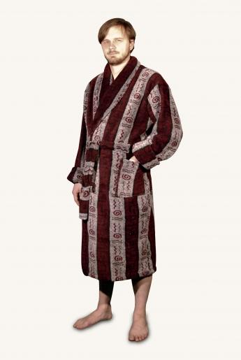 Халат велсофт запашной | купить ивановский текстиль оптом