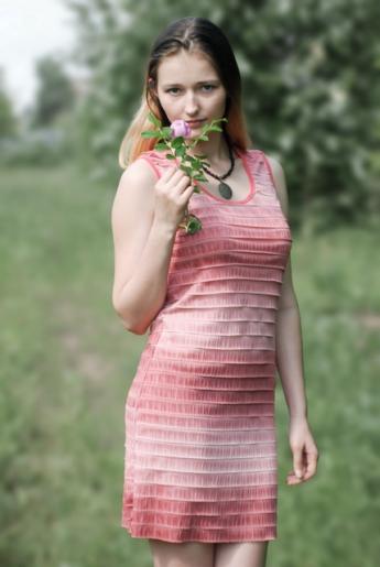 Платье «Рюша» | купить ивановский текстиль оптом