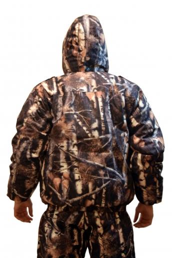 Костюм Штурман (алова) теплый, куртка, вид сзади