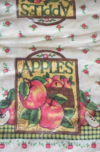 "Полотенце кухонное, рисунок ""яблоки"""