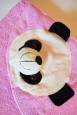 Уголок детский розовый с пандой