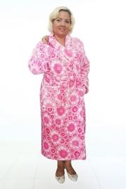 Удлиненный женский халат