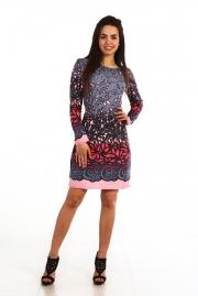 """Купить платье """"Мираж"""" розового цвета"""