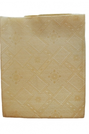 Тефлоновая однотонная скатерть, цвет - золотистый