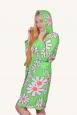 Халат флис/махра на молнии с капюшоном | купить ивановский текстиль оптом